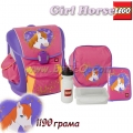 Lego Раница Supreme School Bag Girl Horse 12064