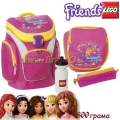 Lego Раница Outdoor School Bag Set Friends Pink 13363
