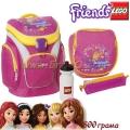 Lego Раница Outdoor School Bag Set Friends Pink 13363
