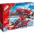 8312 BanBao Конструктор Пожарна кола и лодка