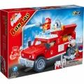 8316 BanBao Конструктор Пожарникарски джип