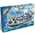 8334 BanBao Конструктор Полицейска лодка
