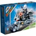8351 BanBao Конструктор Полицейски мотор