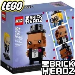 2020 Lego BrickHeadz Младоженец 40384