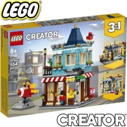 2020 Lego Creator Градска къща и магазин за играчки 31105