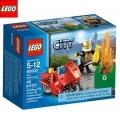Lego City Пожарникарски мотор 60000