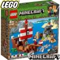 2019 LEGO MINECRAFT ПРИКЛЮЧЕНИЕ С ПИРАТСКИ КОРАБ 21152