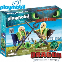 2019 PLAYMOBIL DRAGONS RAFFNUT AND TAFFNUT 70042