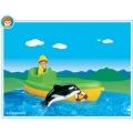 6739 Playmobil Рибарска лодка и кит
