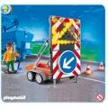 4049 Playmobil Светлинна сигнализация при ремонт на пътя