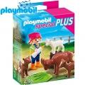 Playmobil 4785 Special Plus - Фигурка момиче с животни