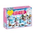 Playmobil - Коледен календар Кралски кънки на лед 9008