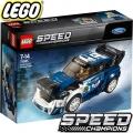 LEGO SPEED CHAMPIONS ФОРД ФИЕСТА М-СПОРТ WRC 75885