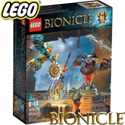 Lego Bionicle Творецът на маски срещу Смазващия череп 70795