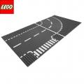 7281 Лего City T-образно кръстовище и завой
